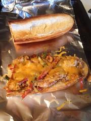 Chicken fajita sandwich (bnichnadowicz) Tags: