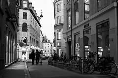 back home (GaRiTsanG) Tags: street bw night copenhagen denmark blackwhite xpro fuji streetphotography streetphoto stphotographia