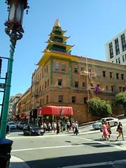 Pagodas and Rainbows (incidencematrix) Tags: sanfrancisco california chinatown blackberry priv