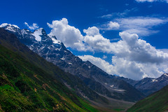 Heaven on Earth (ALi Rixvi) Tags: travel blue pakistan sky mountains green nature beauty up clouds flickr natural earth explore valley istock lanscape gettyimages traveler naran naraan shutterstock 500px flickrlandscape explorein flickrboard