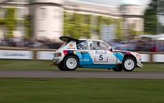 Peugeot 205 T16 ({House} Photography) Tags: show uk car festival speed canon climb moving westsussex hill rally automotive wrc motor panning peugeot goodwood motorsport chichester 205 t16 70d housephotography timothyhouse