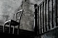 monologue (obsidiana10) Tags: blackandwhite chair sony silla abandonedhouse monologue a77 urbex