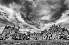 Kilkenny Castle with some ominous looking clouds (NeicyMurphy) Tags: kilkenny ireland sky castle clouds sisters three south sigma east 1020 lr pp leinster