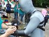 Pony Prepping (AgentDrow) Tags: bdsm prideparade zentai ponyplay rochesterpride