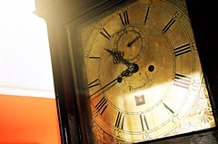 A long time dead (pentlandpirate) Tags: clock edinburgh antique grandfather strike chime clockmaker watchmaker cased eightday andrewdickie