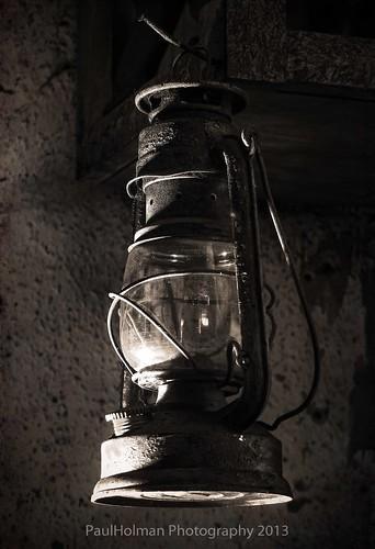 The old lamp-