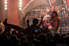 Sevendust- Lajon Witherspoon, Vince Hornsby, Morgan Rose & Random Body Surfer (J. Wingate) Tags: blue red people music white black green water rose yellow festival fog musicians john witherspoon photography concert texas tour purple rockstar live smoke mosh vince photographers spit pit event april concerts clint morgan christi superstar corpus rockstars hornsby 27th sevendust superstars wingate connolly lowery lajon soundcheck411com