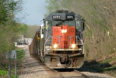 MNA 9375 near Harrisonville, MO (nsmith8853- I'm tired of shootings GE's!) Tags: railroad rural train like railway tunnel trains missouri motor arkansas northern railfan mna railfanning i