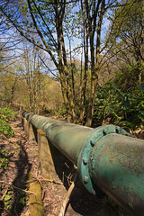 Pipeline (Saturated Imagery) Tags: canal yorkshire dslr pipeline huddersfield marsden colnevalley huddersfieldnarrowcanal sigma1020mmf35 canoneos60d photoshopelements9