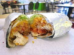 Ranch BLT Wrap @ Chickenow in Paragon Outlets (Tohru ) Tags: ranch food canon wrap blt outlets s100 chickenow