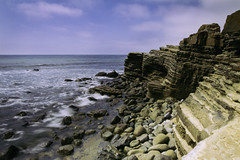 Point Loma San Diego, California (BurgersPhotos) Tags: california longexposure sea sky mountains water clouds photoshop canon landscapes rocks seascapes lee manfrotto lightroom wideanglelens canon1740 cs6 canonllens snadiego canon60d leefilters filterholder pointlomasandiego