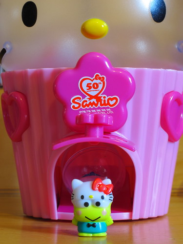 Sanrio 50th Anniversary Squishy Cupcake Dispenser