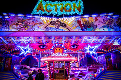 ACTION (flippers) Tags: germany fairground dom hamburg roadtrip funfair hamburgerdom