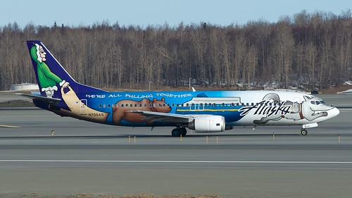 Alaska Airlines Boeing 737-400 N705AS