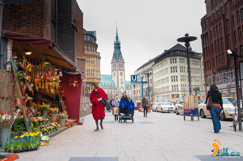 Rathaus, Hamburgo