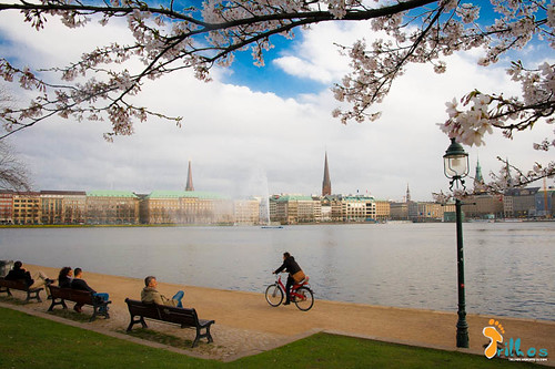 Lago Alster (Binnenalster), Hamburgo