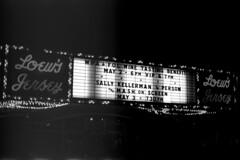X700_051313_10e (Mark Dalzell) Tags: camera bw white black slr film 35mm vintage movie theater neon fuji minolta superia iso sally 400 jersey loews mash marquis kellerman x700