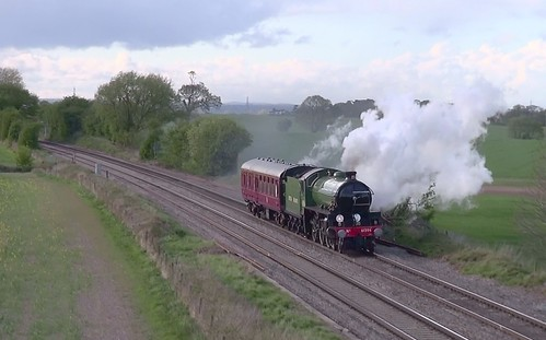 Grosmont NYMR-Washwood Heath hauled by 61306 Mayflower