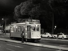 He'd grown old waiting for her (*CA*) Tags: portugal lisbon tram estrellapark