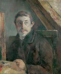 PG 1885 Self-Portrait 1c uhr - Kimbell Art Museum - GAP (petrus.agricola) Tags: art project paul google high image gap resolution ultra gauguin