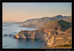 Big Sur Coastline (Emma White ( ... somewhere ... )) Tags: ocean california road ca bridge usa nature water landscape coast big nikon highway arch pacific bigsur route sur coastline rugged bixby d90 openspandrel thewhiteview