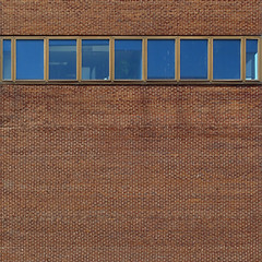 (Torganiel) Tags: brick window wall facade square montreal negativespace 2d uqam g10 torganiel