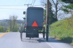 2013-04-21 (331) Strasburg Pennsylvania - country road (JLeeFleenor) Tags: photography carriage photos pennsylvania pa horsedrawn buggy countryroad amishcarriage
