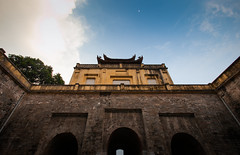 The main gate of Thang Long royal citadel (oan Mn), Hanoi, Vietnam ([ 117 Imagery ]) Tags: building architecture asian ancient asia southeastasia vietnamese gates citadel royal style structure vietnam hanoi thanglong