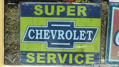 Super Chevrolet Service (Gerard Donnelly) Tags: sign enseigne
