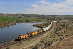 KING HILL UP 7493 REEFER (fenaybridge) Tags: usa up idaho snakeriver unionpacific reefer kinghill es44 geemd ac4400sd70ace