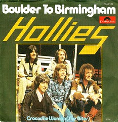 50 - Hollies, The -  Bolder To Birmingham - D - 1976 (Affendaddy) Tags: germany 1976 polydor thehollies vinylsingles collectionklaushiltscher bouldertobirmingham 1960s70sbeatandpop crocodilewoman 2040149