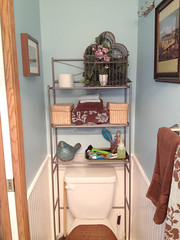 Bathroom After A (KateWares) Tags: bathroom paint redo facelift wainscoting katewares hawaiithemed