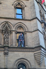 Manchester's Spiderman (Tanvir's Pics 2010) Tags: square manchester town hall albert spiderman victory parade title winning mufc 2013