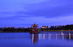 Lianchihtan night (chenhung..view) Tags: canon sigma kaohsiung  1770  sigma1770 60d sigma1770contemporary