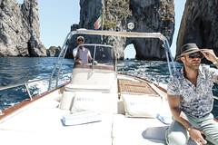 Boat ride on #Capri is today's virtualvacay #Italy (MyLifesATrip) Tags: sea italy nature capri boat