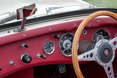 Austin Healey Sprite Interior (Matthew.P.Wright) Tags: austin sprite healey wallingfordcarrally