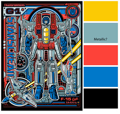 Starscream F (1SHTAR) Tags: color art shop illustration print poster logo screenprint graphic transformers printing guide process press dl mondo starscream acidfree