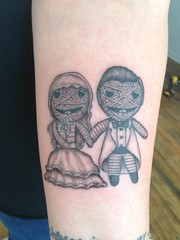 (J+L McDoelz) Tags: tattoo studio groom bride honeymoon jenni minneapolis memory 555 2013 555studio watchovervoodoo