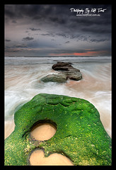 Newcastle-South (Kiall Frost) Tags: ocean sky seascape color colour green beach water clouds sunrise newcastle print landscape flow photo nikon rocks surf image australia nsw kiallfrost d800e wwwkiallfrostcomau