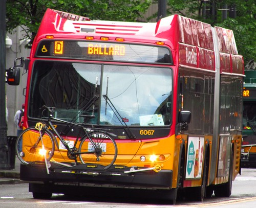 King County Metro RapidRide 2012 New Flyer DE60LFR 6067