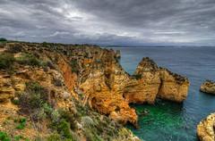 Ponta da Piedade 2 (_Rjc9666_) Tags: nikond5100 tokina1224dxii cliff coastline seascape landscape sea clouds lagos algarve portugal paisagem 325 ©ruijorge9666 hdr 6