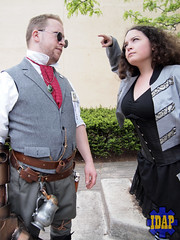 P5116390 (IDAPhotography at Thee-Gartisan Works) Tags: city red festival ma cosplay watch fork empire waltham emperor steampunk 2013