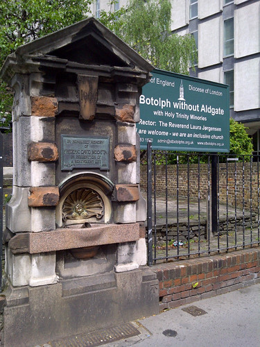 St Botolph without Aldgate drinking fountain