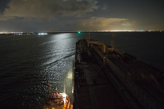 Night-time Pilot transfer (hp181san) Tags: galveston night ship texas availablelight ships houston maritime nautical pilot houstonshipchannel harriscounty pilotage galvestoncounty houstonpilots