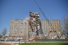 Great Lakes hospital building demo (14 May 13) 2