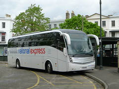 FJ12FXG Durbins , Patchway (neiljennings51) Tags: bus volvo south gloucestershire national service express cheltenham caetano psv pcv levante durbins