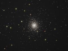 Messier 92 in Hercules (Ian J Crichton) Tags: Astrometrydotnet:status=solved Astrometrydotnet:version=14400 Astrometrydotnet:id=alpha20130509595857