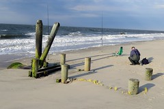 Beach fisherman (runneralan2004) Tags: newjersey capemay