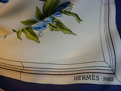 Herms copyright (Carre de Paris) Tags: vintage hermes caretag evolutionofthecopyright