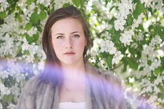 Reanna (Vanessa Vokey) Tags: park flowers light woman green eye art girl beautiful beauty face grass hat leather fashion stone lady bench hair fur graffiti book pretty grafitti dress boots wind turquoise blueeyes bricks makeup style tshirt skirt lips swing brickwall hazel editorial cherryblossom swingset colourful swinging brunette lovely railing plaid johnlennon reddress yokoono sunflare fashionable 50mm18 edgy innerbeauty furjacket rustysteps blacktophat